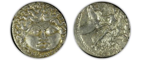 L. Plautius Plancas. 47 B.C. AR Denarius