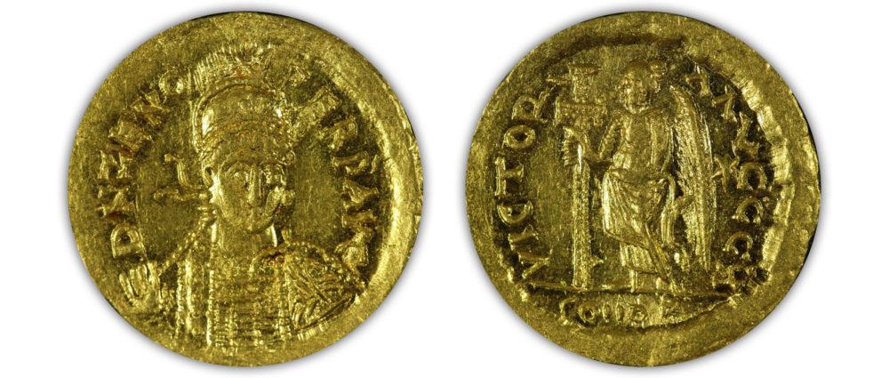 Eastern Roman Empire. Zeno AV solidus.