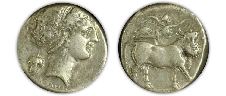 Neapolis, Campania. 340-300 B.C. AR Stater